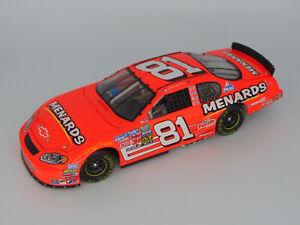 ACTION 2005 DALE EARNHARDT JR #81 CHEVY MONTE CARLO MENARDS NASCAR 1:24