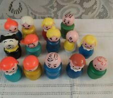Vintage Fisher Price Little People Lot of 14