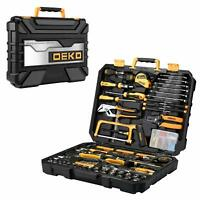 DEKO 198 Piece Home Repair Tool Kit General Household Hand Tool Set Tool Kit
