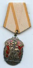 Original Orden Zeichen der Ehre UDSSR Sowjetunion Russia