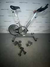 Keiser M3 Indoor Exercise Bike / Cycle + Small Dumbbells