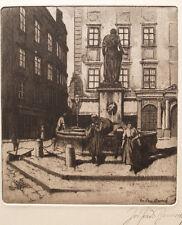 Josef Ferdinand BENESCH (1875-1954) Am Brunnen