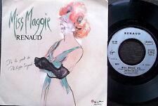 "RENAUD, MISS MAGGIE /TROIS MATELOTS-French Virginn 90237-7"" PS 1985-VG++"