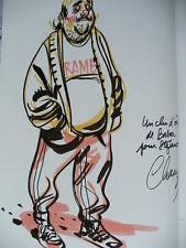 Dédicace BD CHAUZY - Rouge est ma couleur - Villard