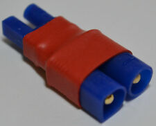 (1) No Wires Connector: Male EC3 to Female EC2 Lipo Battery Adapter