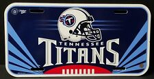 Tennessee Titans NFL Car / Truck Tag Used In Good Condition See Pics Free Ship!