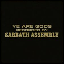 SABBATH ASSEMBLY - Ye are the Gods (NEW*LIM.500*BLACK V.*ACCOUSTIC PSYCH. ROCK)
