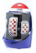 SET PEDALI RACING GOMMINI ROSSI SPC0406RS SPARCO