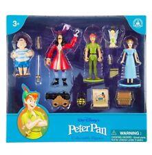 DISNEY PARKS PETER PAN 13 Pezzi Set Figure Gioco, TINKER BELLE, nuovo con scatola, importazione USA