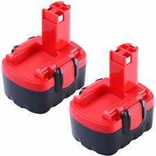 x2 Batterie Remplacement 3.0Ah Bosch 14.4V PSB14.4 BAT038 BAT040 BAT041 BAT140