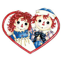 Raggedy Ann and Andy Doll Deco 25 Wallies Wallpaper Stickers Decals Border Walls