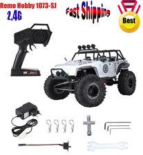 Remo Hobby 1073-SJ 1/10 2.4G 4WD RC Car Remote Control Off-road Rock Crawler ❤❤