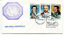 1980 Deutsche Antarktisstation Standorterkundung M/V Polarsirkel Antarctic Cover