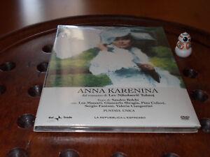 Anna Karenina  Sandro Bolchi L.Massari completa Editoriale  Dvd ..... Nuovo