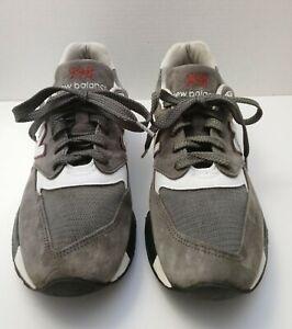 CLEANED New Balance M998CRA USA Classic Grey Marathon Running Sneaker - 10.5D