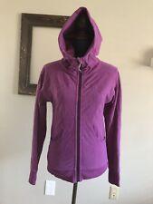 Lululemon Scuba Hoodie Size 4 Jacket Thumbhole Athletic Purple Pink