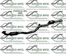 Catalytic Converter-Exact-Fit Front Davico Exc CA 18400