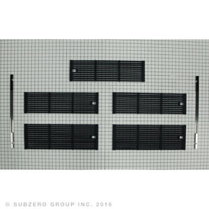 NEW WOLF GRILL SECTION (CAST IRON PORCELAIN) GRATE KIT for  BBQ36 MODELS