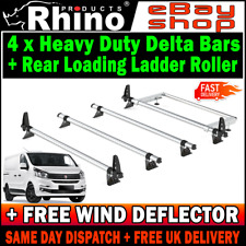L2 H1 M = 3 x Rhino Delta Van Roof Rack Ladder Bars Citroen Dispatch 2016-2020