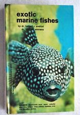 """""""EXOTIC MARINE FISHES"""" by Dr. Herbert Axelrod & Dr. Cliff Emmens 1988 Hardcover"""