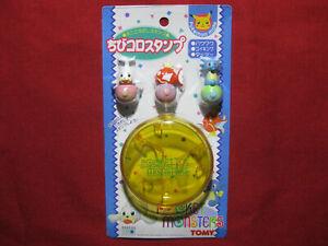 Pokemon SEEL MAGIKARP HORSEA Figure 1997 Pocket Monsters Stamp Set Tomy Nintendo