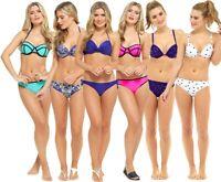 LADIES BIKINI SET SWIMSUIT BATHING SUIT SWIMWEAR HOLIDAY BEACH WEAR NEW