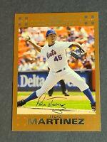 Pedro Martinez New York Mets 2007 Topps Copper #500 45/56 Jersey # 1/1