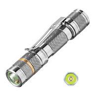 Titanium LED Flashlight Lumintop TOOL Ti 110LM Cree XP-G2 R5 AAA Pocket Light