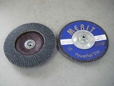 "MERIT MINI FLAP DISC T//O 2/"" GRIT 36 Z//A 95020 box of 10"