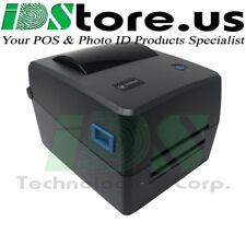 4″ Thermal Transfer/Direct Thermal Label Printer (LTT204) USB, Zebra TSC Datamax