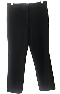 THE ROW Black Stretch Corduroy-style Fabric Pants 2 S 8