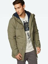 Bench Men's Water Repellent Hooded Parka Jacket ~ BMKD0067 ~ Size XL