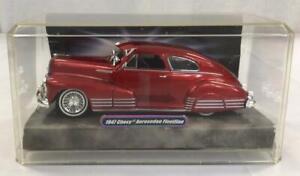 Jada Lowrider 1947 Chevy Aerosedan Fleetline Candy Red 1:24 Scale Diecast