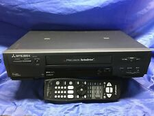 "Mitsubishi Hsu-778, S-Vhs Player Vcr ""TurboDrive"" Hi Fi, Remote, Pre-Owned"
