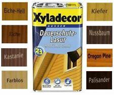 €5,98/L Xyladecor 2in1 Dauerschutz Lasur Farblos 5 Liter Holzschutzlasur Holz