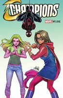 Marvel Champions #1 Wonderworld Exclusive Variant Mark Waid Siya Oum
