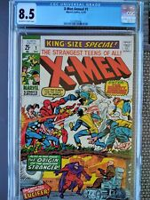 1970 X-MEN KING SIZE SPECIAL ANNUAL 1 CGC (8.5) VS. THE AVENGERS