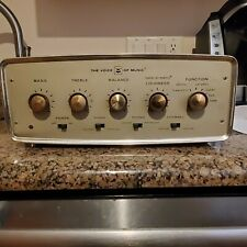 The Voice of Music 1428 Amp Tubes Lights up Tested Works Great Rare