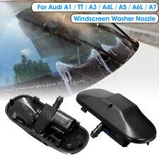 2pcs Windscreen Wiper Water Spray Jet Washer Nozzle For Audi A1 A3 A5 A4L A6L TT