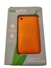 Bioserie iPhone 3G/3GS Naranja Funda Delgada Ligera hecha de plantas