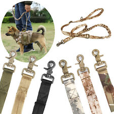 125~155 cm Dog Leash Retractable Rope Elastic Bungee with Two Control Handle Set
