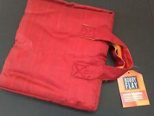 "Bobby Flay Hamptons Picnic Blanket Striped Red Zipper Closure 51 1/2"" x 57 1/2"""