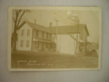 VINTAGE REAL PHOTO POSTCARD THE GENERAL STORE IN RICHMOND WISCONSIN 1910