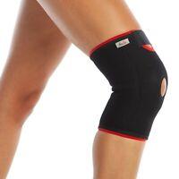 Patella Knee Support - Open Patella Brace - Neoprene Adjustable Arthritis Guard