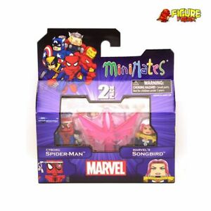 Marvel Minimates Series 50 Cyborg Spider-Man & Songbird