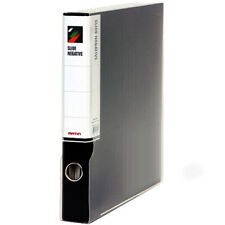 Matin 3-RING BINDER File Box Archival Storage Film Print Sheets Sleeves (Black)