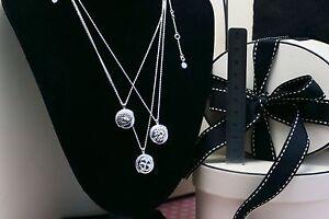 Genuine Links of London Sterling 925 Silver Secret Eclipse necklace Love Gift
