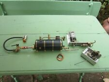 SVS Steam engine and boiler with gas burner and electric feed pump