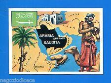 [GCG] LA TERRA - Panini 1966 - Figurina-Sticker n. 210 - ARABIA SAUDITA -Rec