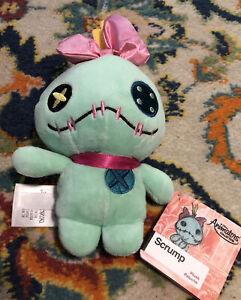 """Disney Store Lilo and STITCH SCRUMP Plush Doll 8"""" Animators Collection Soft"""